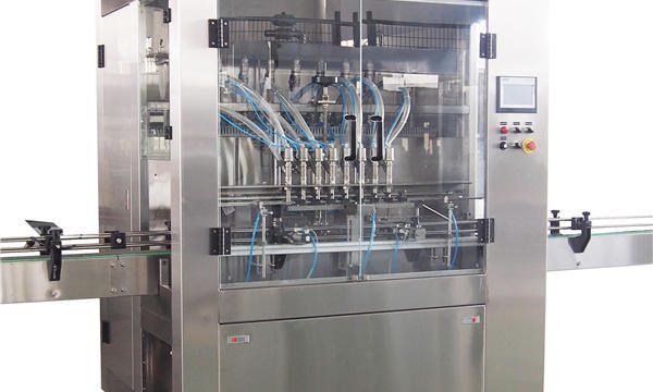 1L-5L التلقائي آلات تعبئة المكبس