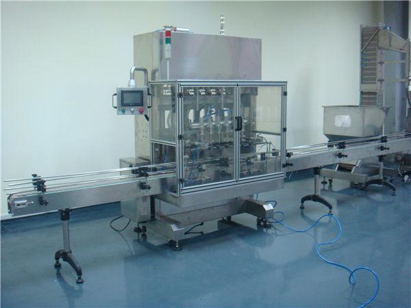 الخل التلقائي آلة ملء السائل الجاذبية الوقت
