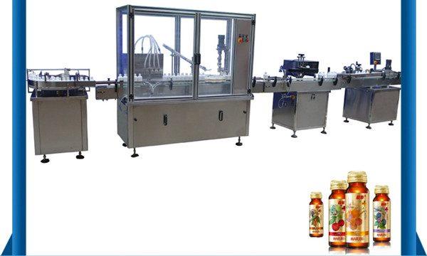 الصين مورد التلقائي زجاجة العسل السائل ملء آلة