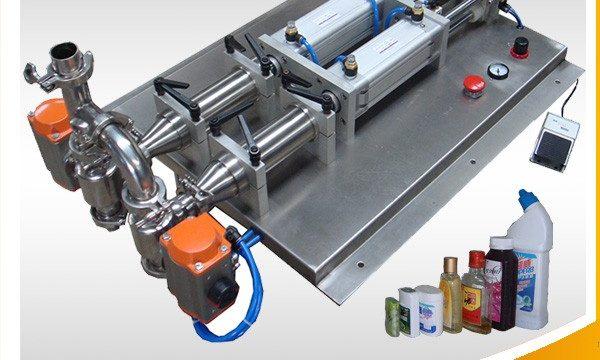 الصين أسعار المنتجات الصغيرة زجاجة السائل ملء آلة المورد
