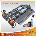 آلة تعبئة السائل للتآكل التلقائي نصف الأوتوماتيكية