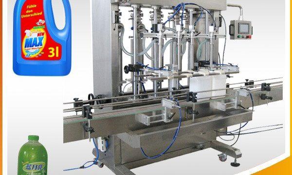 آلة تعبئة السائل ذات الرأس المزدوج الكامل التلقائي
