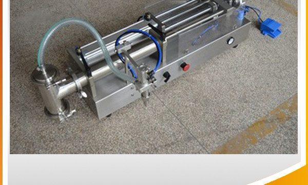 آلة تعبئة مكبس نصف أوتوماتيكية آلة تعبئة زيت مثالية