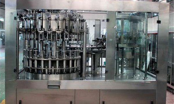 السائل ملء آلة الفولاذ المقاوم للصدأ التلقائي للنفط / تنقية المياه