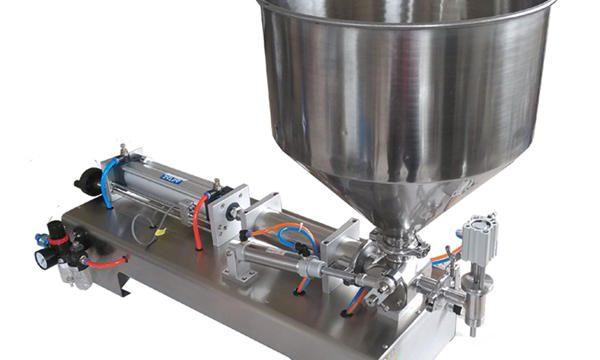 آلة تعبئة العسل اليدوية ذات الكفاءة العالية