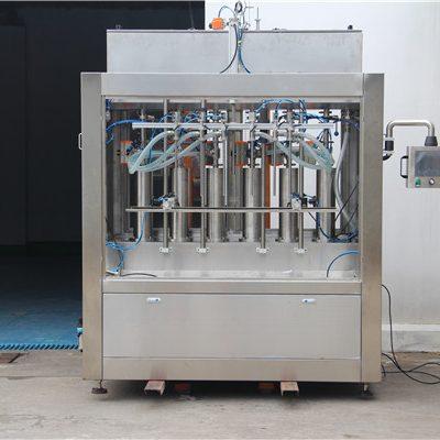 آلة ملء صلصة الطماطم الهوائية نصف الأوتوماتيكية