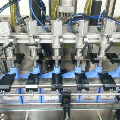 آلة تعبئة زيت المحرك الأوتوماتيكية بـ 6 رؤوس