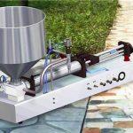 آلة تعبئة سائل المنظفات نصف الأوتوماتيكية