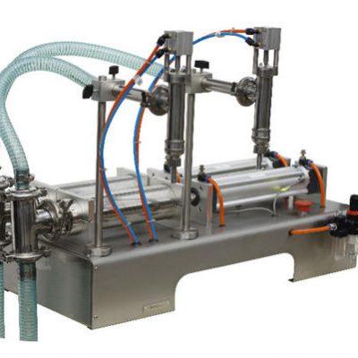 آلة تعبئة الصابون السائل الأوتوماتيكية نصف الأوتوماتيكية