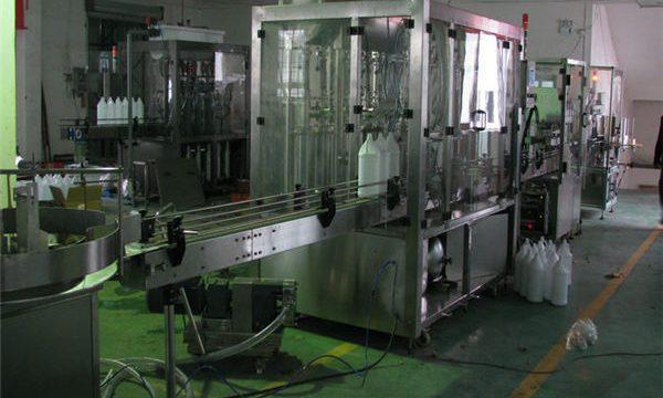حشو شامبو تلقائي / آلة تعبئة شامبو / خط تعبئة شامبو