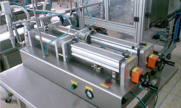 نوعية جيدة مزدوجة الفوهات السائل شامبو ملء آلة