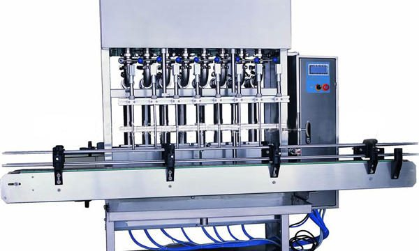 الفولاذ المقاوم للصدأ السائل ملء آلة الصابون