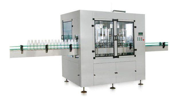 آلة تعبئة صابون السائل الخطي الأوتوماتيكية بثمانية رؤوس