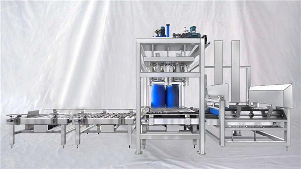 ESDF سلسلة 100-1000L للتخصيص آلة الطبل التلقائي سعة كبيرة