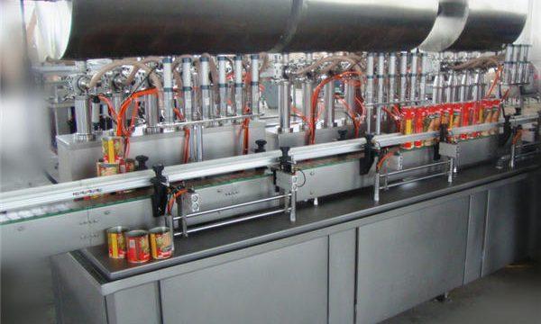 آلة تعبئة لصق الفلفل الحار المزدوج الكامل
