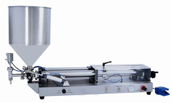 آلة تعبئة معجون نصف أوتوماتيكية ل 3 مل 5 لتر