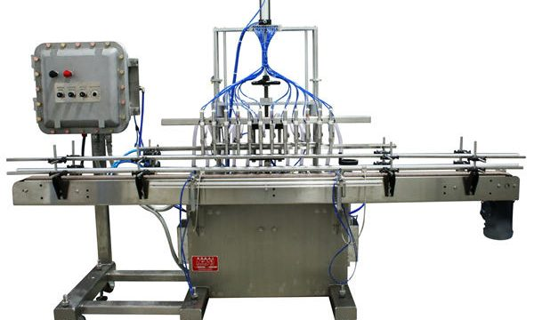 التلقائي ملء آلة المكبس السائل 50ML-1L
